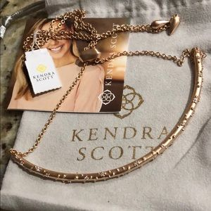 Kendra Scott Rose Gold Diamond Choker